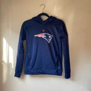 NFL New England Patriots Hoodie Youth M